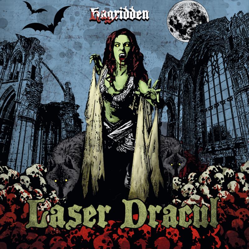 Laser Dracul - Hagridden Vinyl LP  |  Tri-color