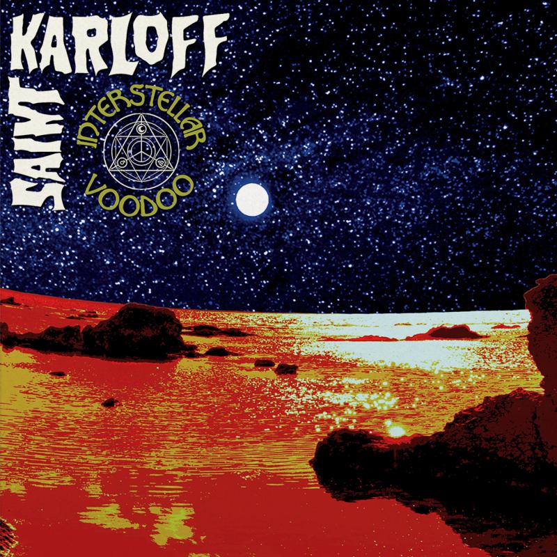 Saint Karloff - Interstellar Voodoo Vinyl Gatefold LP  |  Black/blue merge