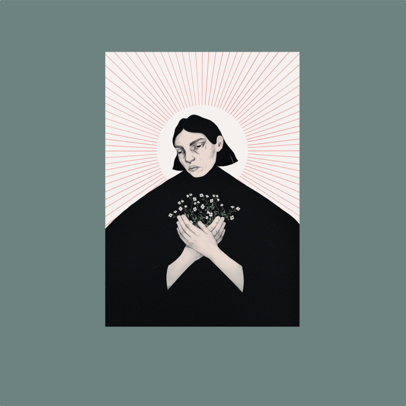 Sleep Moscow - Of the Sun Vinyl LP     White/Silver